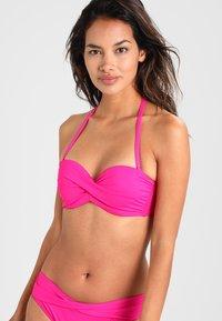 s.Oliver - PUSH UPS BANDEAU - Bikini top - pink - 0