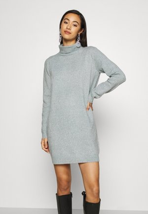 JDY BRILLIANT ROLLNECK - Robe pull - abyss
