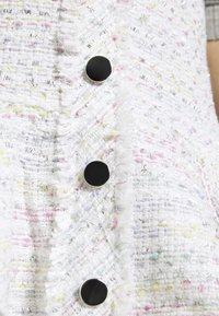 Miss Selfridge Petite - BOUCLE PINNY DRESS - Day dress - ivory - 5