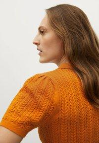 Mango - TELLON - Polo shirt - oranje - 4
