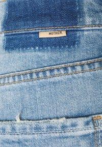 Mother - RUNAWAY UNDONE - Bootcut jeans - light blue - 2