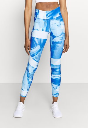 LUX BOLD FLAT ON BACK - Leggings - chalk blue