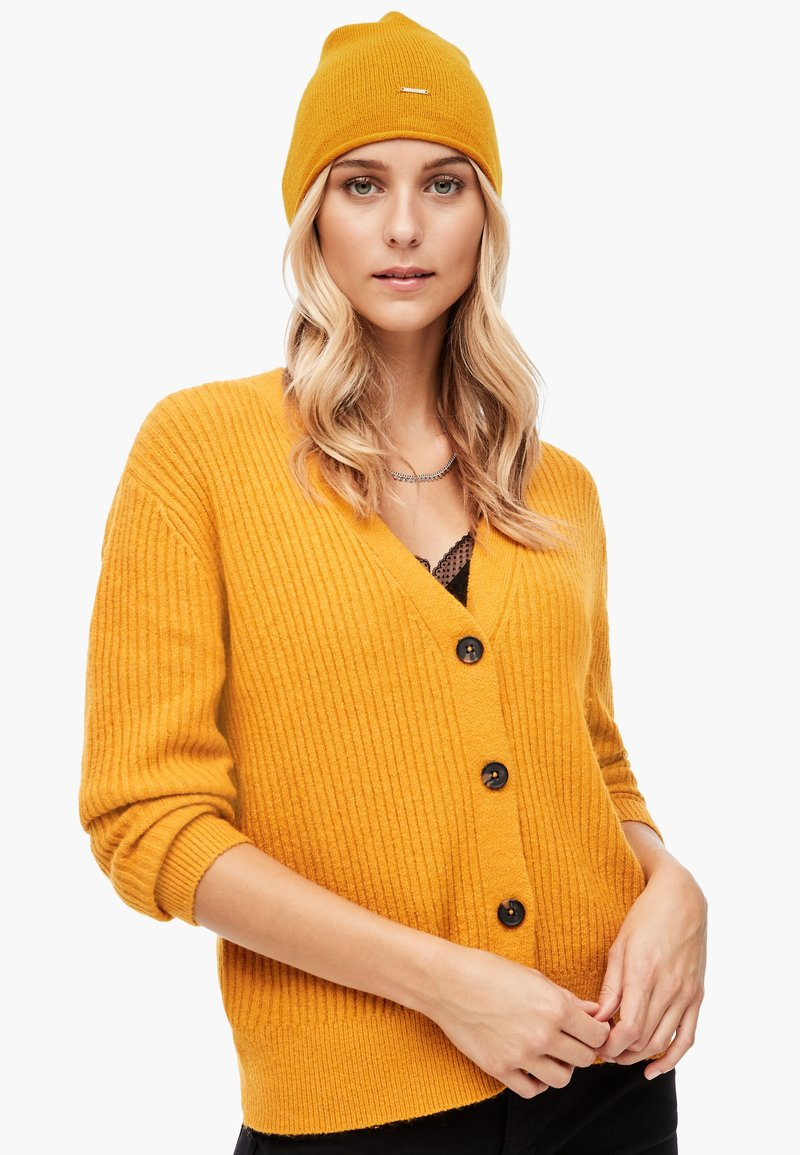 s.Oliver - Beanie - yellow