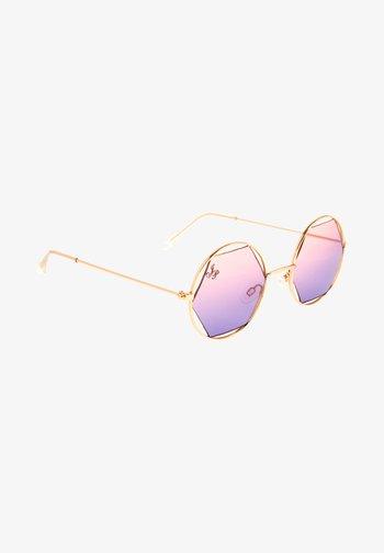 Lunettes de soleil - purple gradient