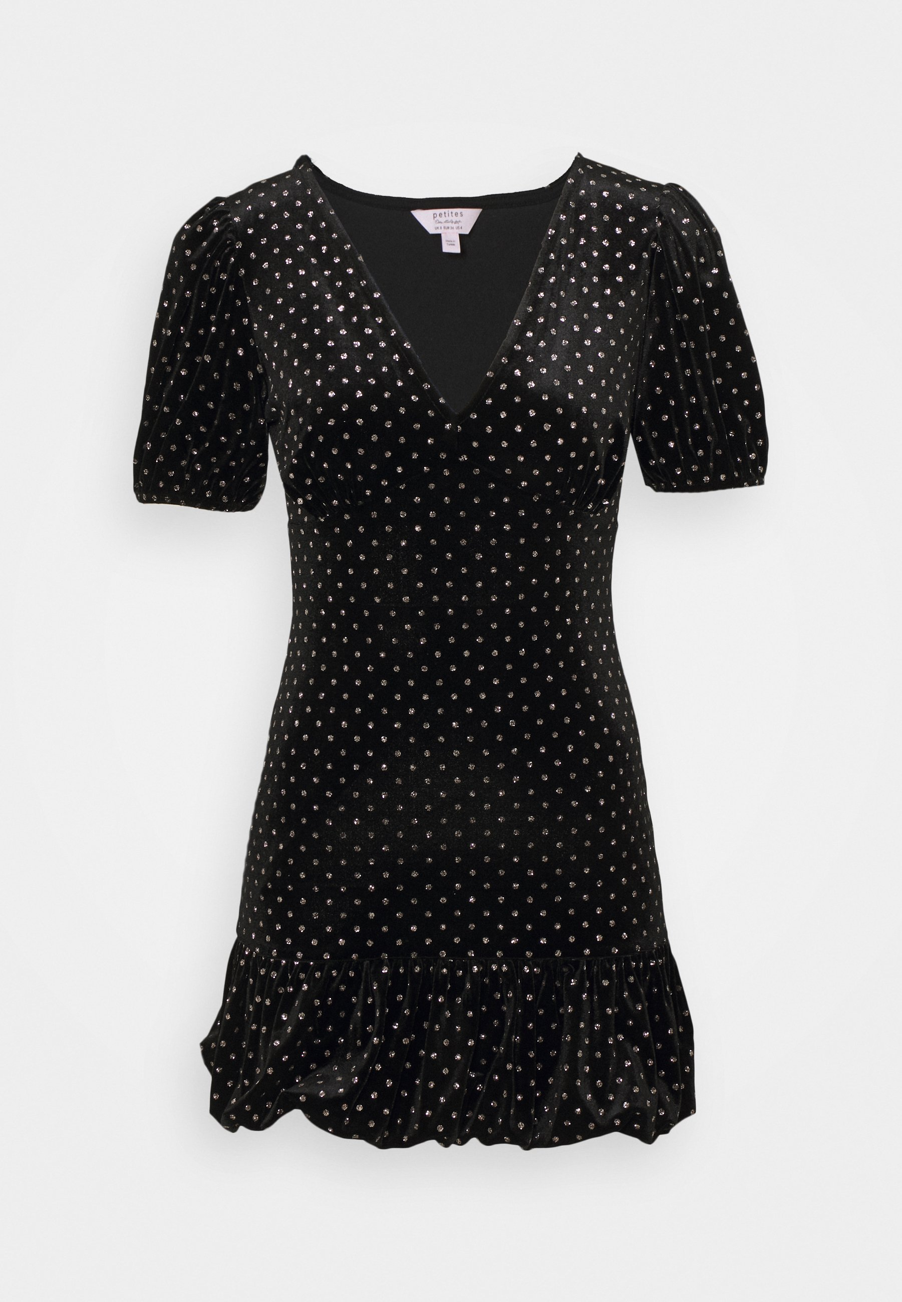Women BUBBLE HEM MINI - Shift dress