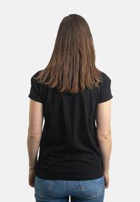 Platea - Print T-shirt - schwarz - 1