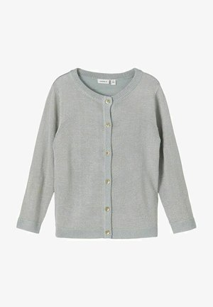 GLITZER - Cardigan - dusty blue