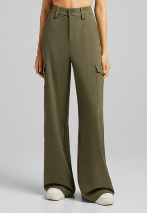 WIDE LEG 05160168 - Cargo trousers - khaki