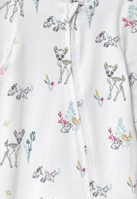 Cotton On - DISNEY BAMBI LONG SLEEVE ZIP UNISEX - Dupačky na spaní - white - 3