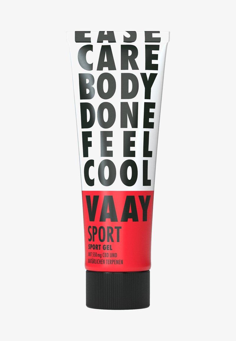 VAAY - SPORT CBD SPORTS GEL - Moisturiser - -
