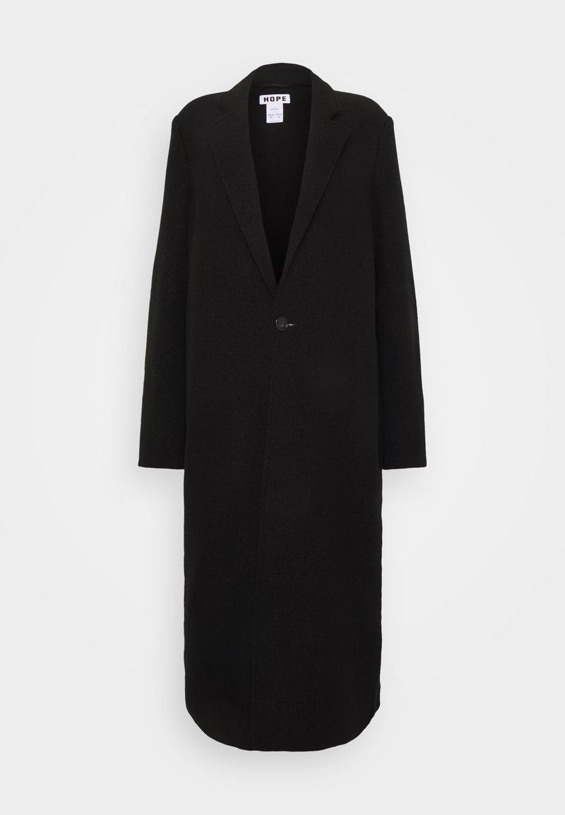 Hope - COVER COAT - Classic coat - black