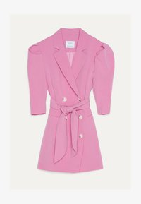 Bershka - MIT BALLONÄRMELN - Shirt dress - pink - 4