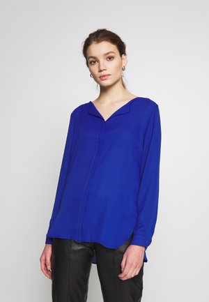 Long sleeved top - mazarine blue