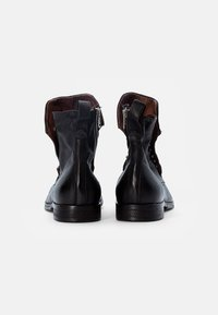 A.S.98 - CLASH - Cowboy/biker ankle boot - nero - 2