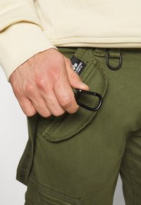 Alpha Industries - UTILITY PANT - Cargo trousers - dark olive - 3