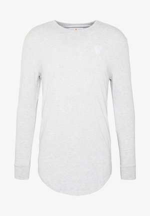 GYM TEE - Topper langermet - grey marl