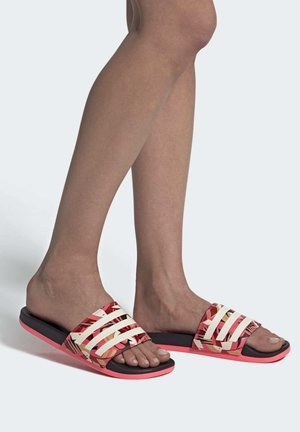Sandały kąpielowe - cblack linen sigpnk