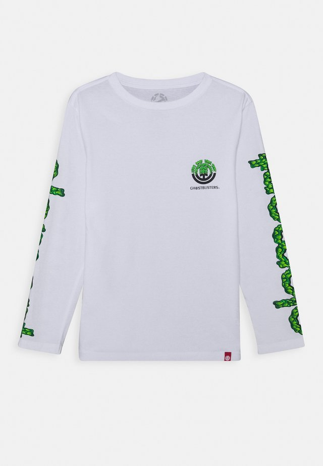 GHOSTBUSTERS X ELEMENT PROTON COMBO BOY - Long sleeved top - optic white