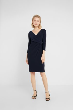 MID WEIGHT DRESS - Pouzdrové šaty - lighthouse navy