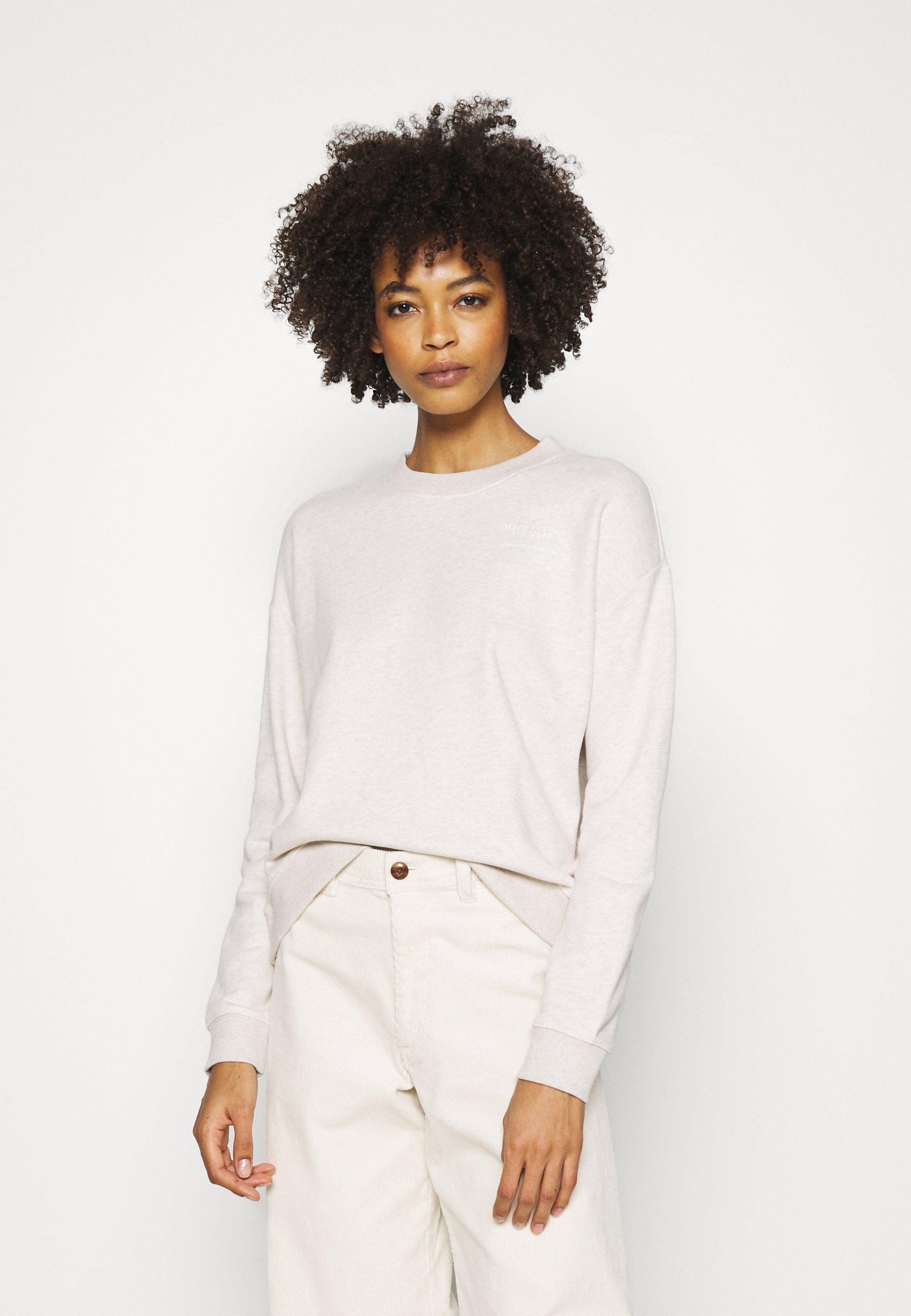 Women LONGSLEEVE ROUNDNECK PLACED PRINT - Sweatshirt