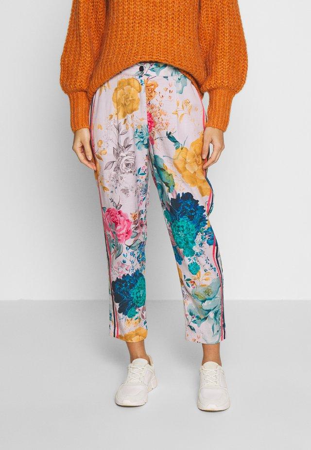 GIARDINO TROUSERS - Spodnie materiałowe - multi