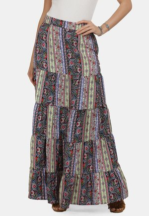 A-line skirt - multi-coloured