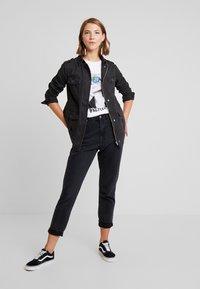 New Look - POCKET UTILITY SHACKET - Summer jacket - black - 1