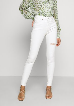 THIGH RIP JAMIE  - Jeans Skinny Fit - white