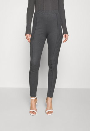 MIX IT UP - Leggings - Trousers - offblack