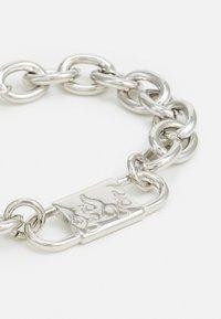 Uncommon Souls - CHUNKY ID LINK BRACELET - Bracciale - silver-coloured - 2