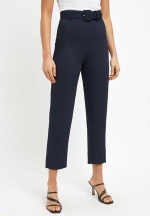 Trousers - navy/marine