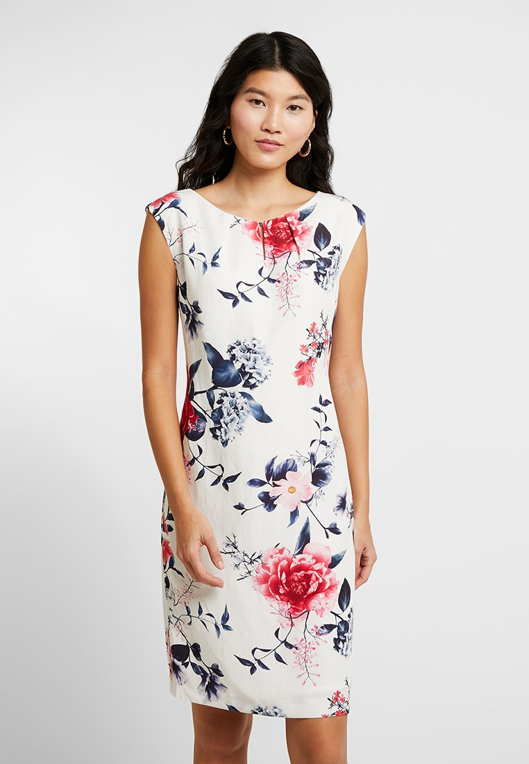 Betty & Co - Cocktail dress / Party dress - white/red