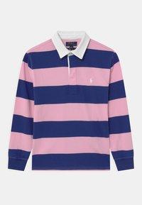 Polo Ralph Lauren - RUGBY - Polotričko - bright navy/carmel pink - 0