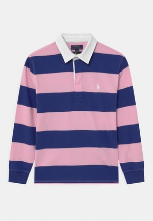 RUGBY - Polo shirt - bright navy/carmel pink