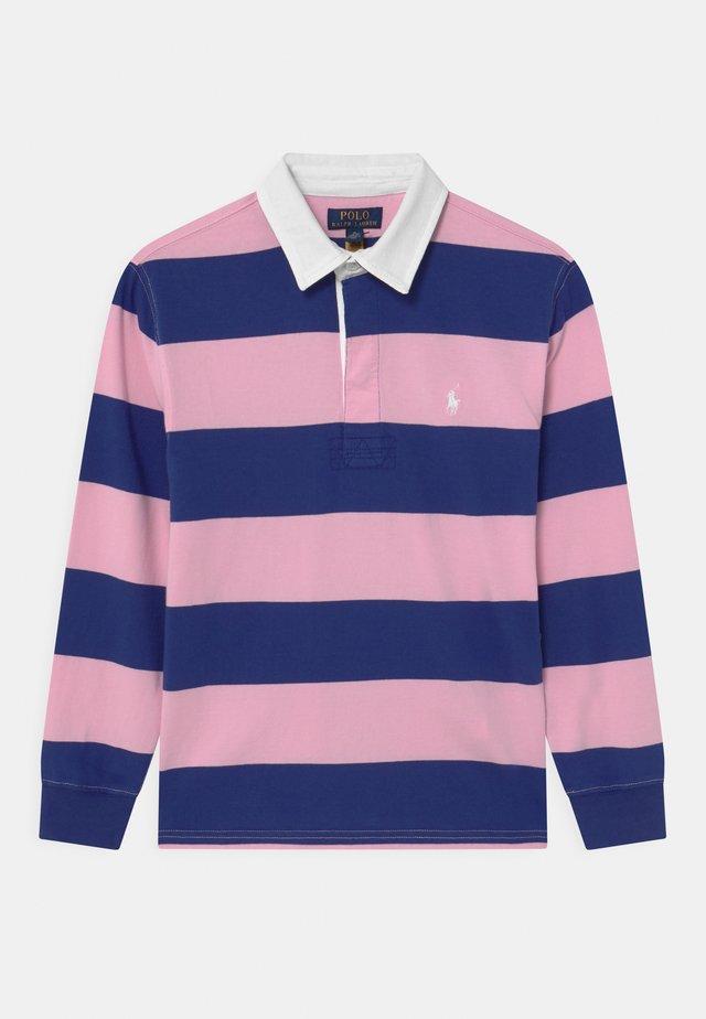 RUGBY - Poloshirt - bright navy/carmel pink