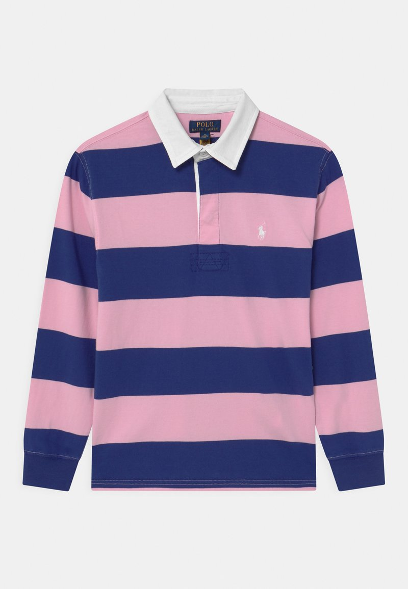 Polo Ralph Lauren - RUGBY - Polotričko - bright navy/carmel pink