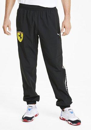 SCUDERIA FERRARI STREET - Pantalon de survêtement - black