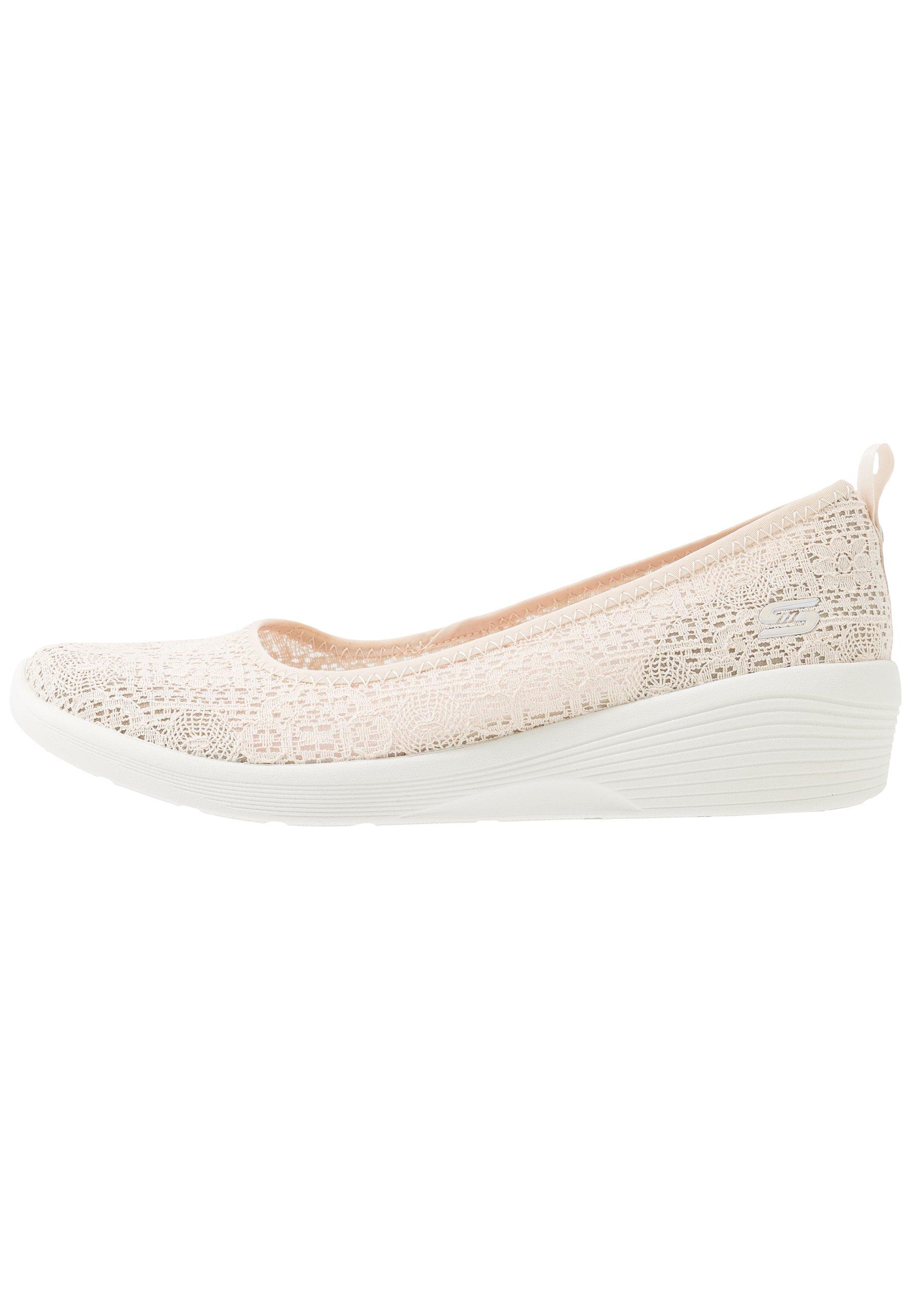 Skechers Arya - Klassischer Ballerina Natural/offwhite/beige