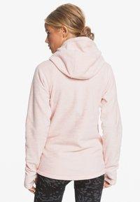 Roxy - ELECT FEELIN - Fleece jacket - silver pink - 2