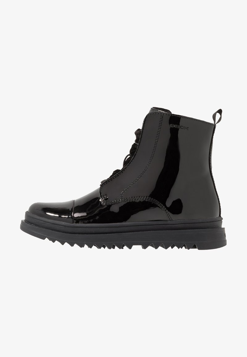 Geox - GILLYJAW GIRL - Lace-up ankle boots - black