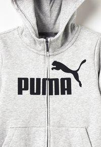 Puma - HOODED JACKET - Bluza rozpinana - light gray heather - 4