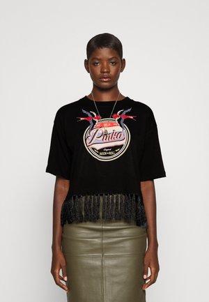 ARCHEOLOGIA  - Print T-shirt - black