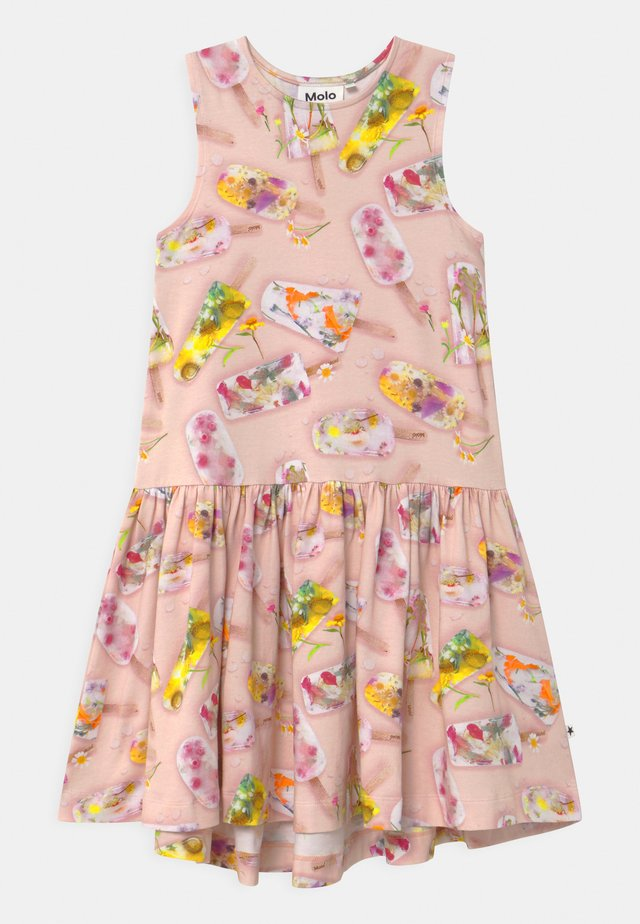 CANDECE - Jerseyklänning - light pink