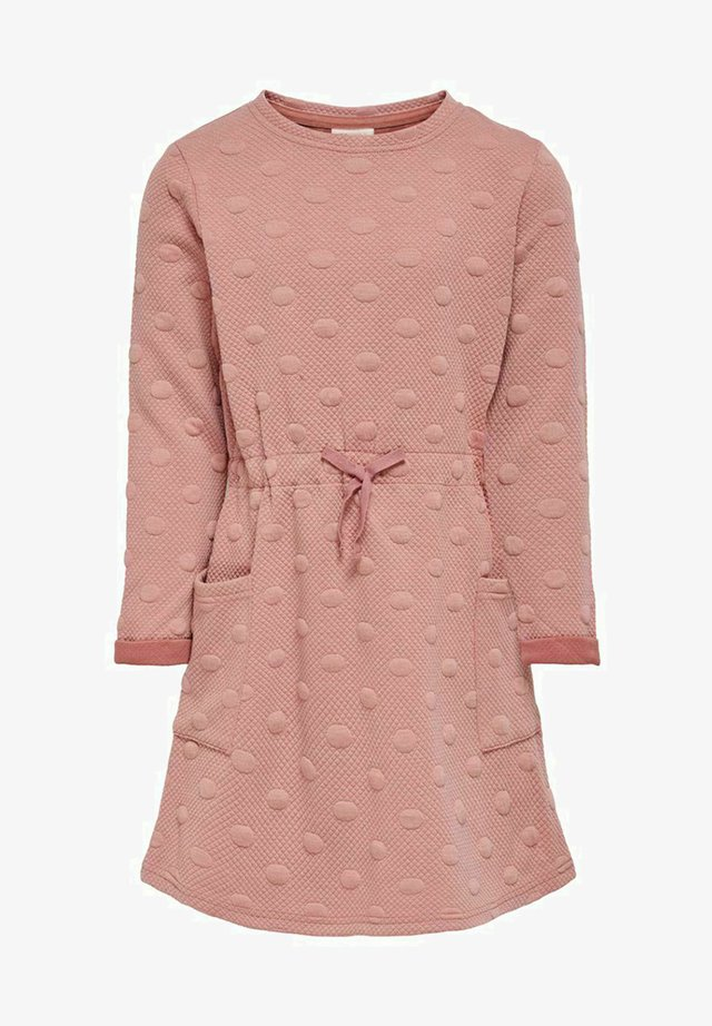 Jumper dress - ash rose