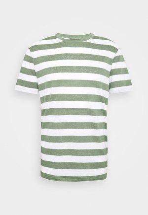 COMA CLEAN - Print T-shirt - sage green