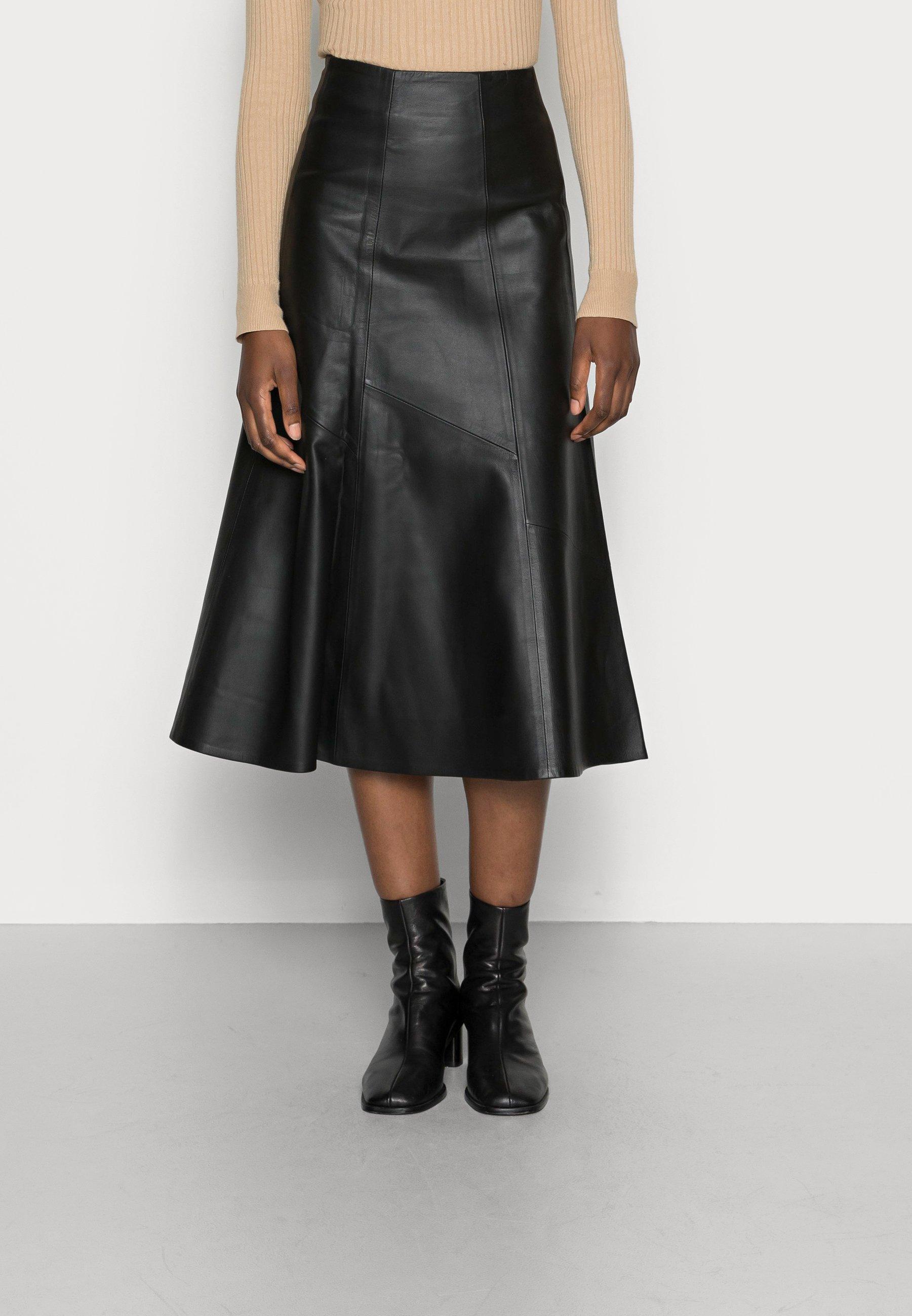 Femme LAUREL - Jupe en cuir
