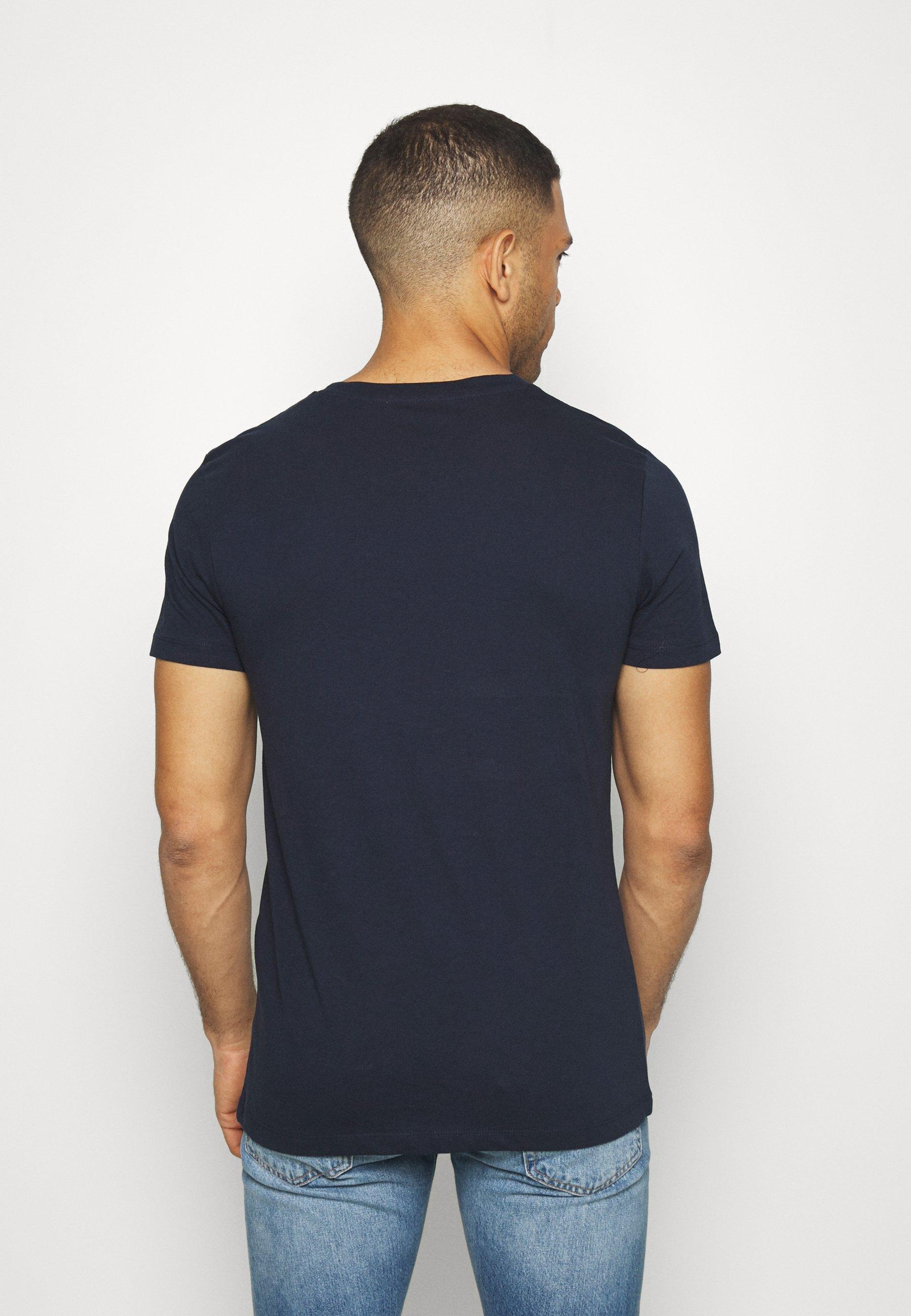 TOM TAILOR DENIM Print T-shirt - sky captain blue SjiVT