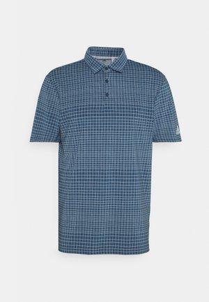 ULTIMATE365 ALLOVER PRINT - Poloshirt - crew navy/halo blue