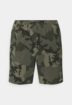 NINE TRAILS SHORTS - Sports shorts - river delta/industrial green