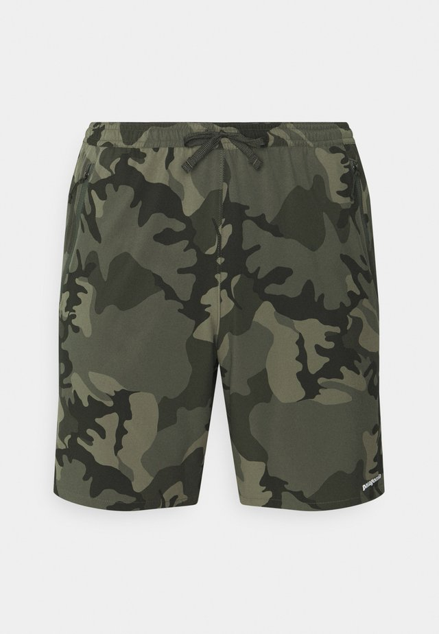 NINE TRAILS SHORTS - Short de sport - river delta/industrial green
